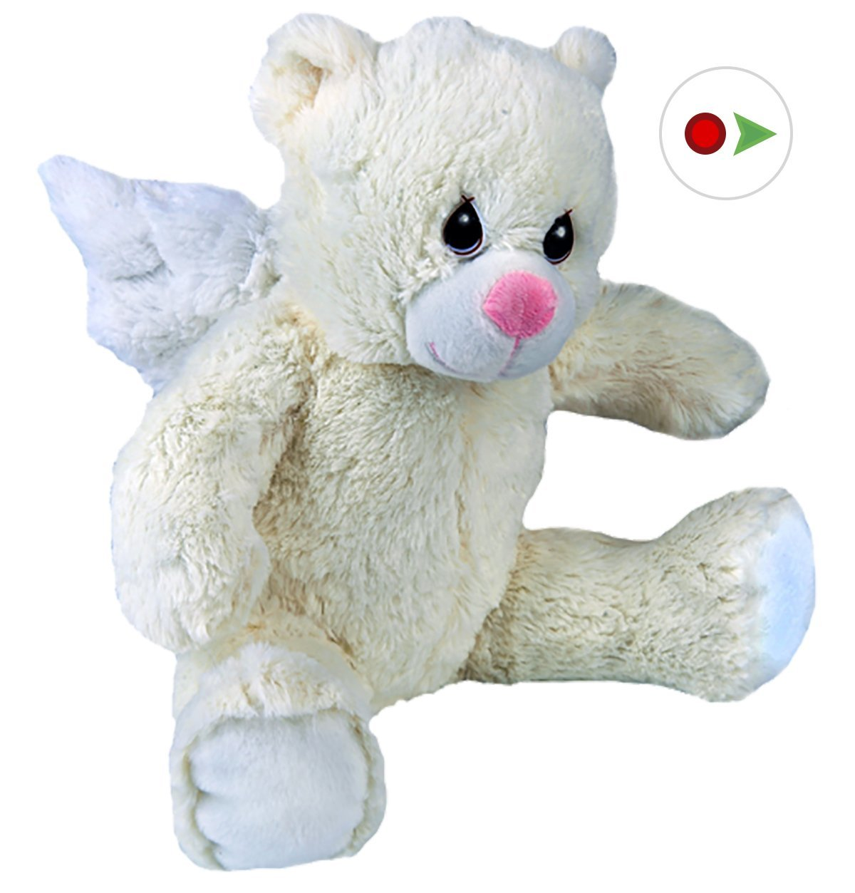 Record Your Own Plush 16� inch Angel Teddy Bear Ready 2 Love in a Few Easy Steps by Teddy Mountain