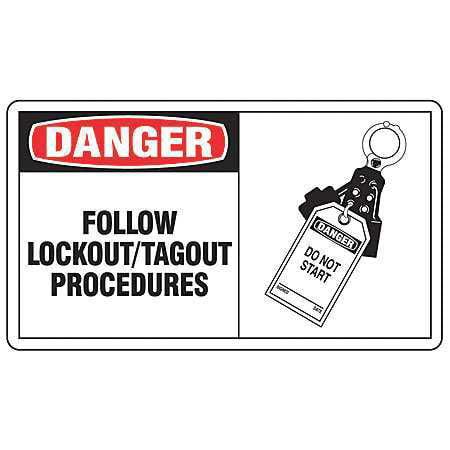 Safety Label,Information,3-1/2 In. H,PK5 ACCUFORM LLKT003VSP