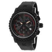 Men's TLAPIDUS-5125402SM Black Rubber Strap Chronograph Watch