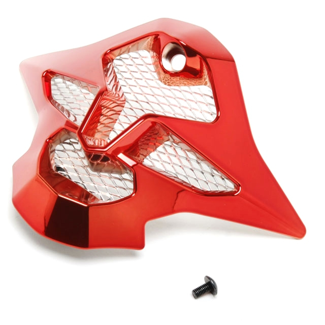 SHOEI Mouthpiece for VFX-W Off-Road Helmet Chrome red  #236160