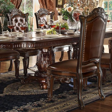 Acme Furniture Vendome Tufted Dining Side Chair - Set of 2 Acme Furniture Set Chair