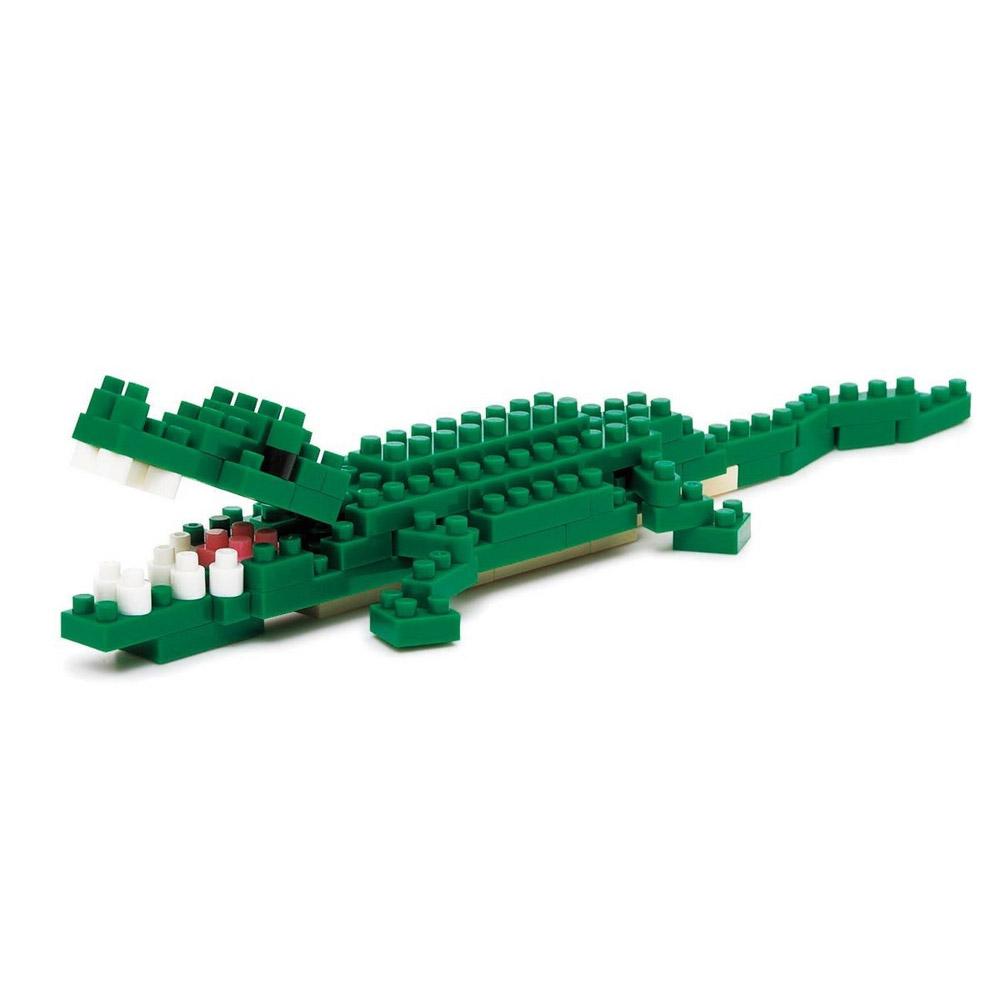 Nanoblock Nile Crocodile 3D Puzzle by nanoblock