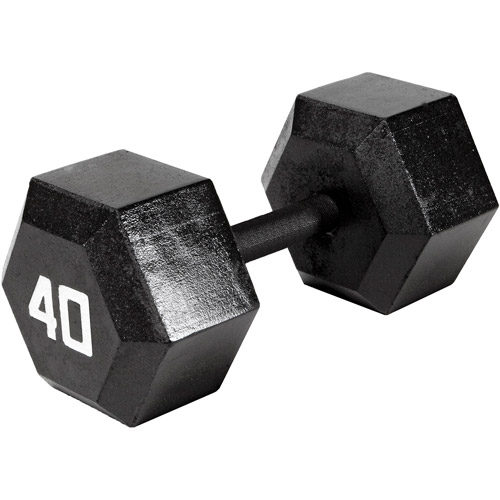 Marcy 40 lb EcoWeight Iron Dumbbell: IV-2040  - Sold Individually