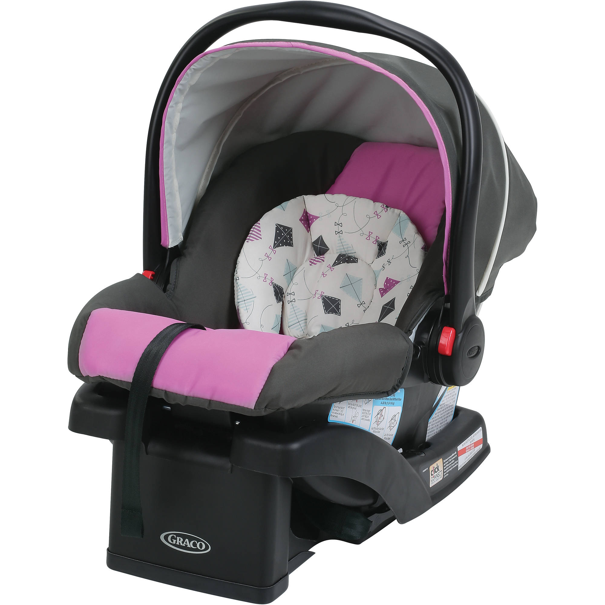Graco SnugRide 30 Click Connect Infant Car Seat with Front Adjust, Kyte