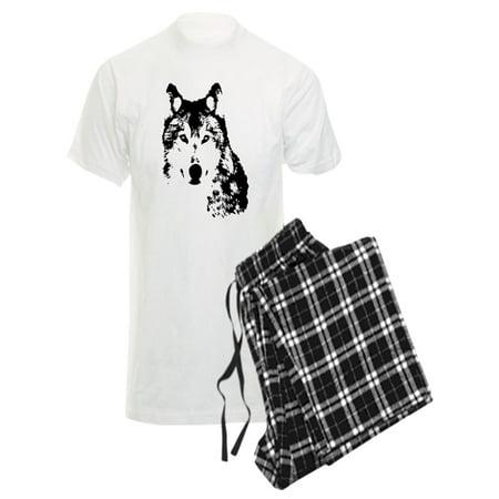 b7661ea97dea CafePress - CafePress - Wolf Pajamas - Men's Light Pajamas - Walmart.com