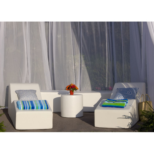 La-Fete Pool 5 Piece Lounge Seating Group