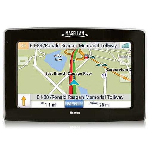 Refurbished Magellan Maestro 4250 4.3-inch Automotive GPS w  Bluetooth Enabled by Magellan