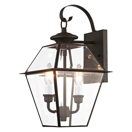 Livex Lighting Westover 2 Light Outdoor Wall Lantern