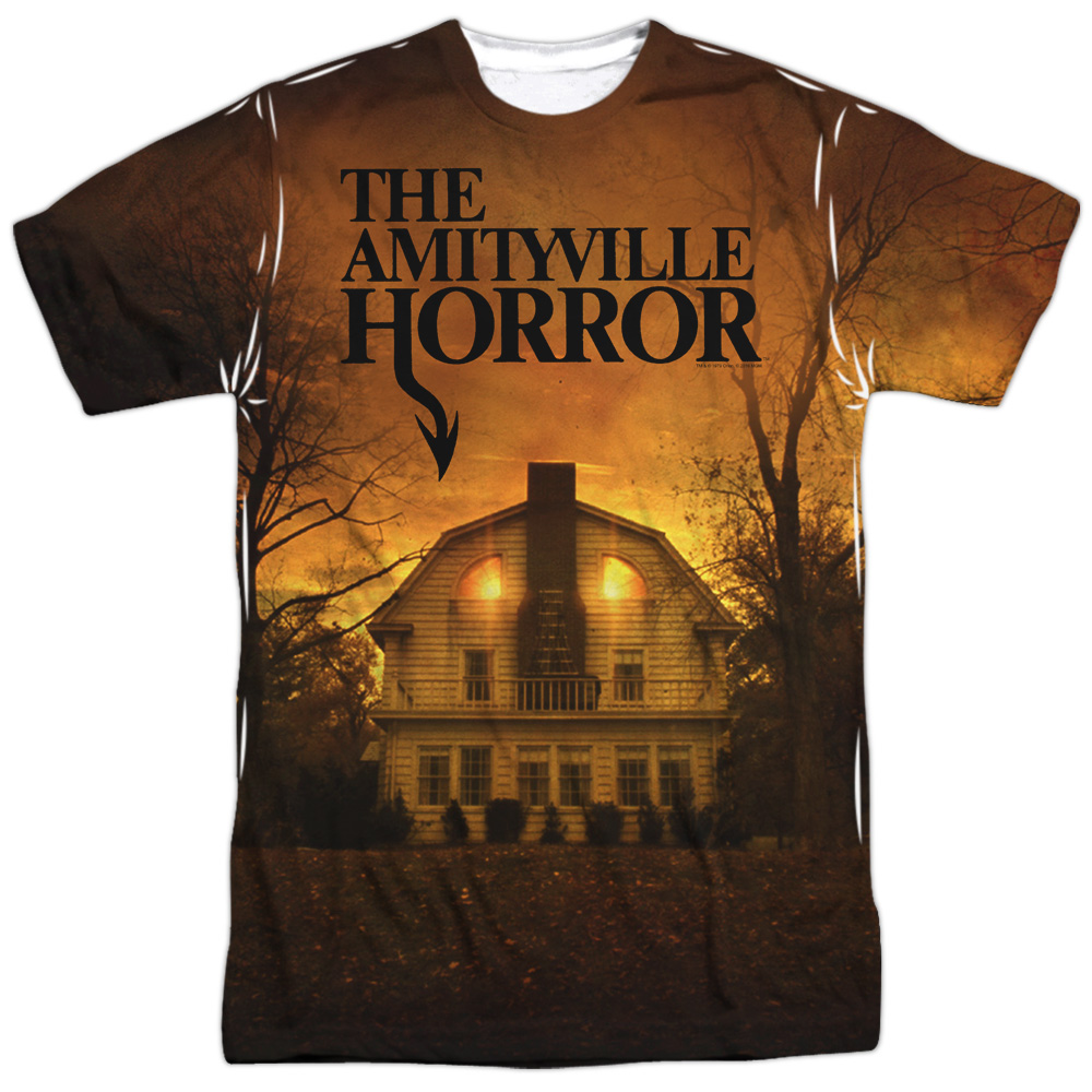 Amityville Horror House (Front Back Print) Mens Sublimation Shirt