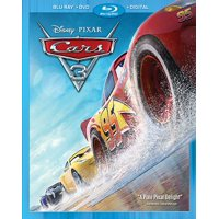 Cars 3 (Blu-ray + DVD + Digital)
