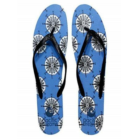 8eb285eb82462 Beauté Fashion - Beaute Fashion Trendy Nautical Sailboat Anchor Starfish  Flip Flops Mermaid Thong Sandal Slipper (X-Large   11 B(M) US