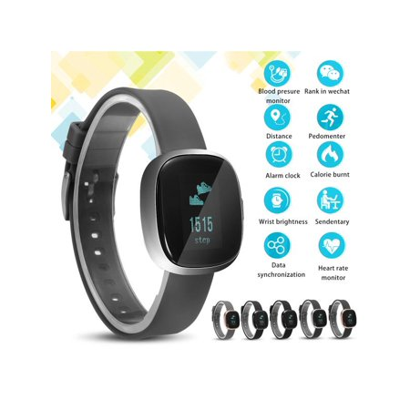 9f15088a9 Waterproof bluetooth Smart Bracelet Wristband Sports Watch Fitness Tracker  Activity Tracker With Blood Pressure Heart Rate Monitor for IOS Android  iphone ...