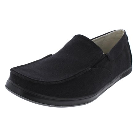 GBX Mens Siesta  Low Top Loafers Casual Shoes Black 8 Medium (D)
