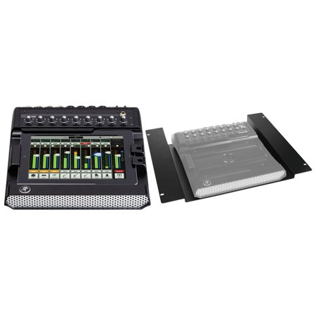 new mackie dl806 lightning 8 channel digital mixer w lpad control rack mount kit. Black Bedroom Furniture Sets. Home Design Ideas