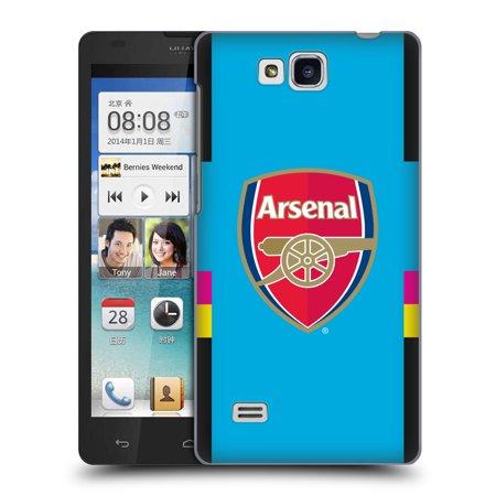 OFFICIAL ARSENAL FC 2016/17 CREST KIT HARD BACK CASE FOR HUAWEI PHONES 2 ()