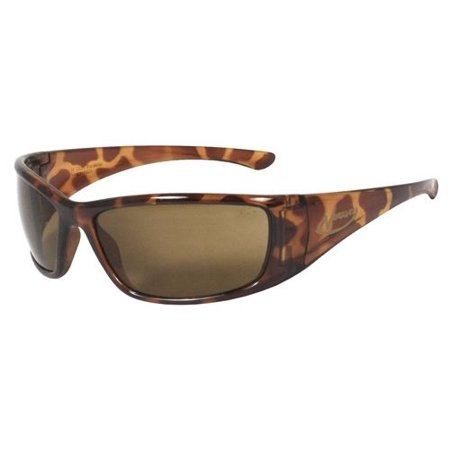 (Radians Vengeance Safety Glasses with Tortoise Frame and Brown Polarized Lens)