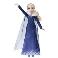 Disney Frozen Olaf's Frozen Adventure Elsa Doll with Matching Shoes