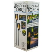 Flickering Flame Effect LED Solar Torch