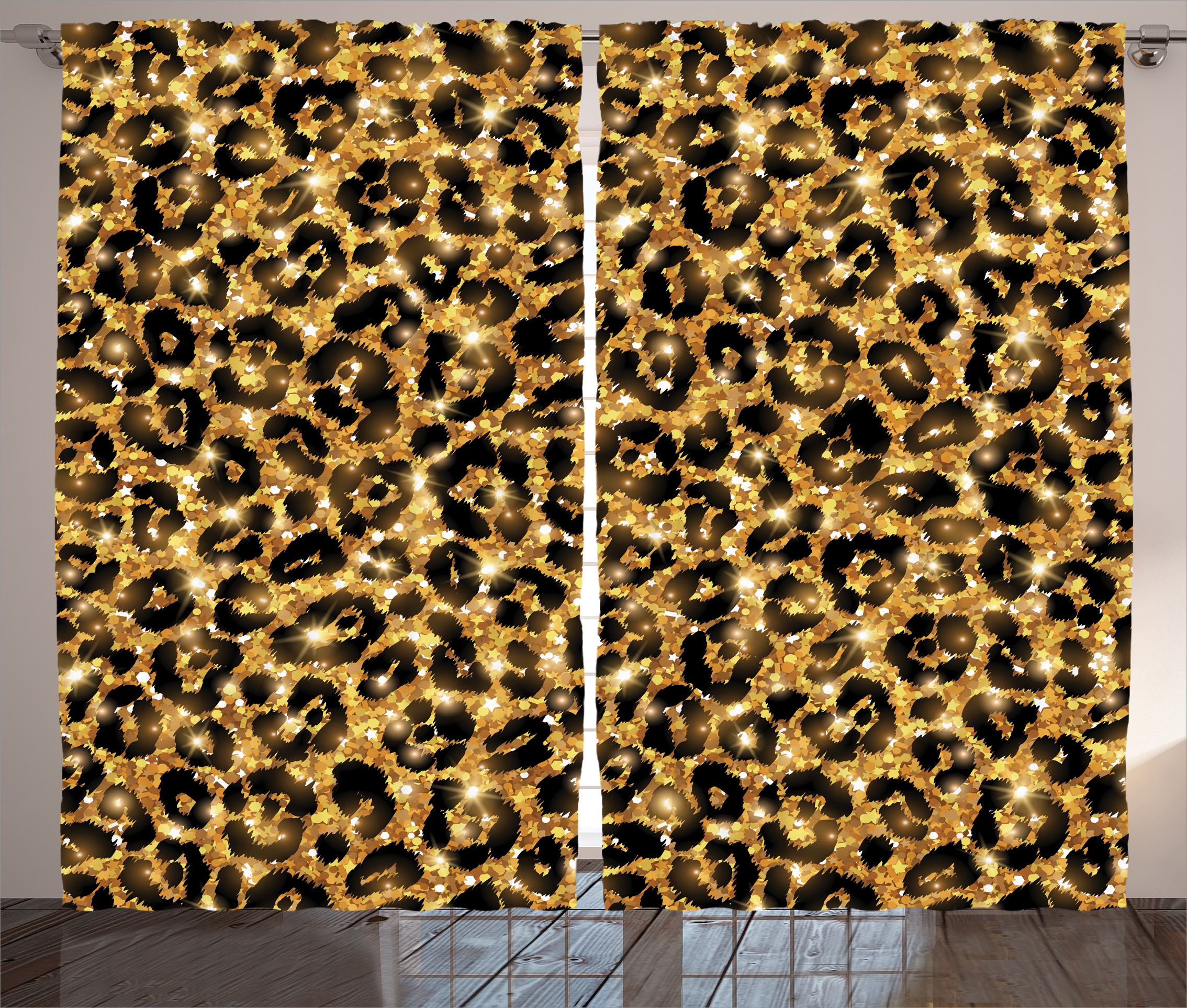 Popular Leopard Curtains-Buy Cheap Leopard Curtains lots from ...