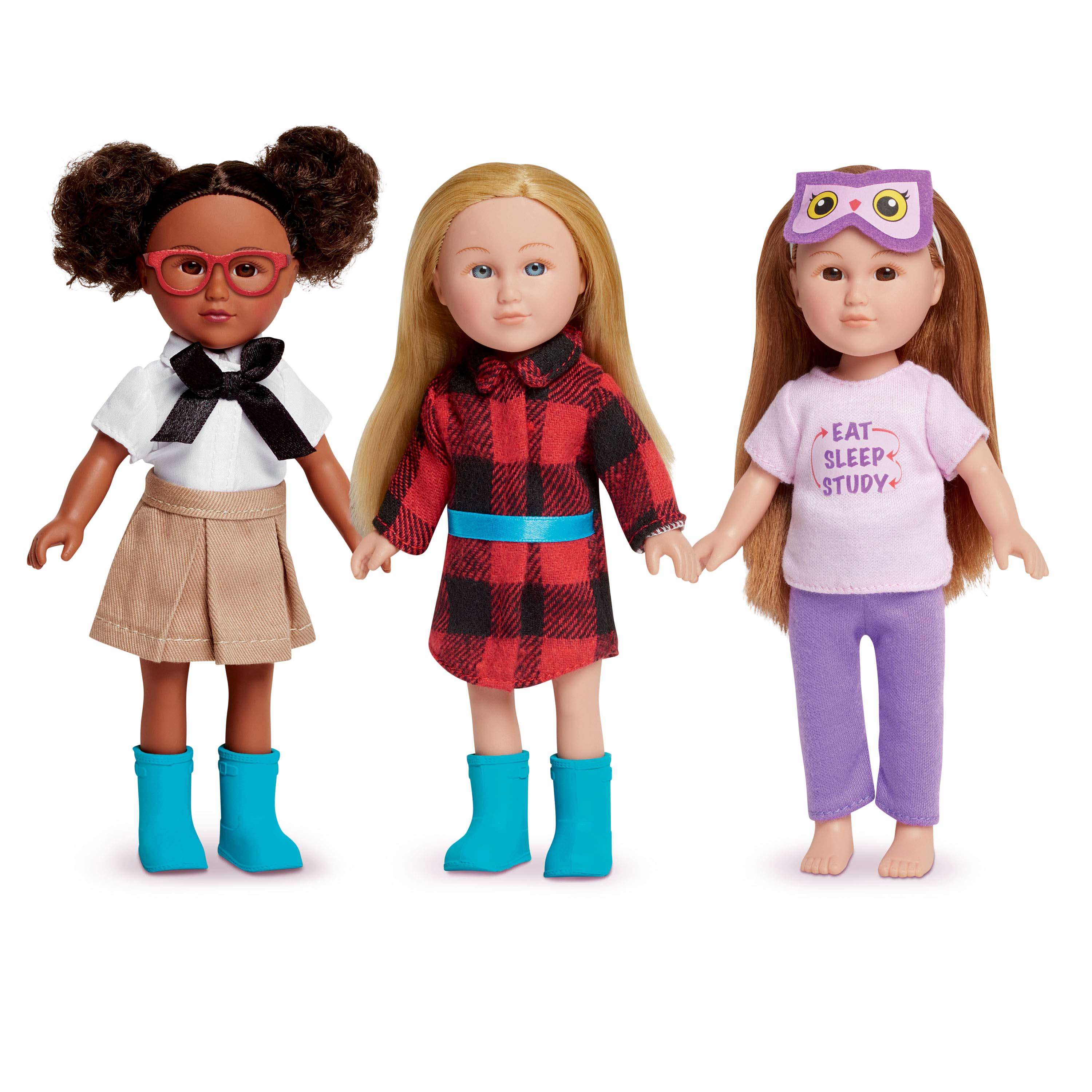 My Life As 7-inch Mini Doll Clothing Fashion Pack - School Girl Theme