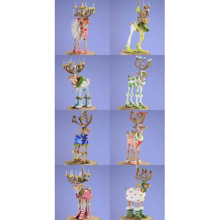 Patience Brewster Krinkles Halloween (Patience Brewster Set of 8 Mini Dashway Reindeer Ornaments)