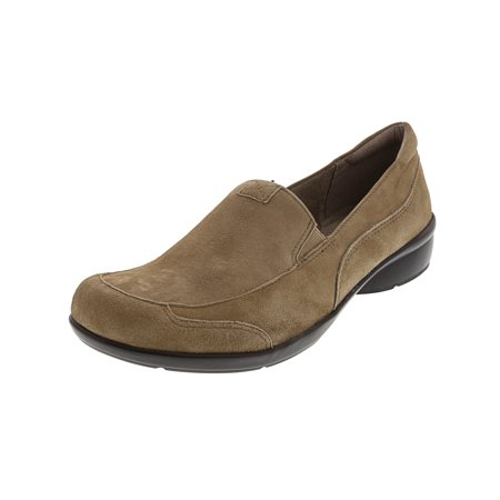 Naturalizer Women's Channing Suede Oatmeal Loafer - -