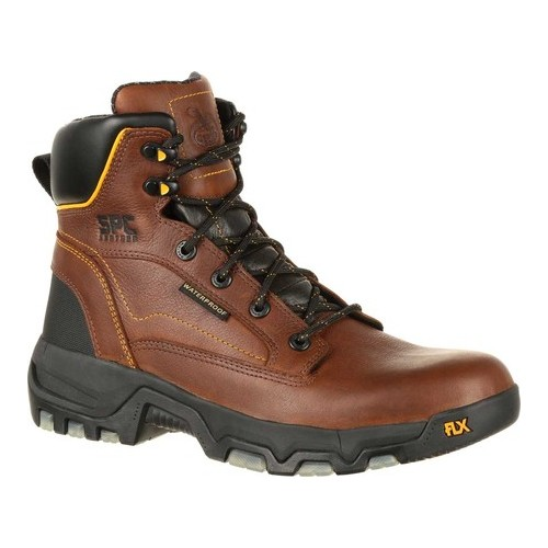 """Men's Georgia Boot GB00168 6"""" FLXpoint WP Composite Toe Work Boot by"""