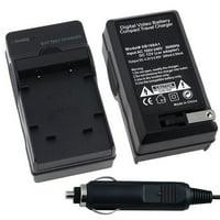 Insten Compact Battery Charger Set For Olympus Li-40B /  Nikon EN-EL10 /  Fuji NP-45 / Pentax D-Li63