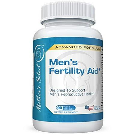 Aide la fertilité masculine par Mother's Select pour Motilité, la santé sexuelle et Raising testostérone, ingrédients naturels, 90 Vegan Capsules, approvisionnement de 30 jours