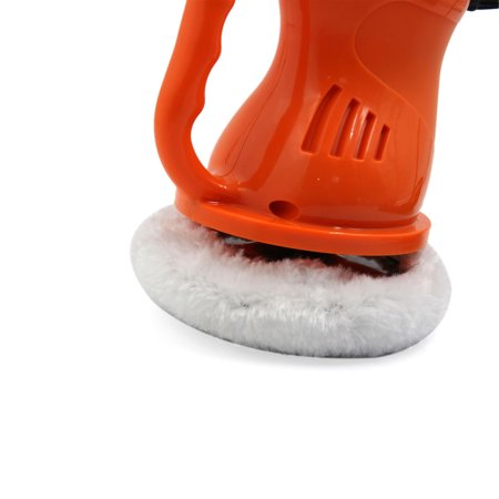 DC 12V Orange Black Waxing Buffing Machine Car Electric Waxer Polisher Cleaning - image 1 of 5