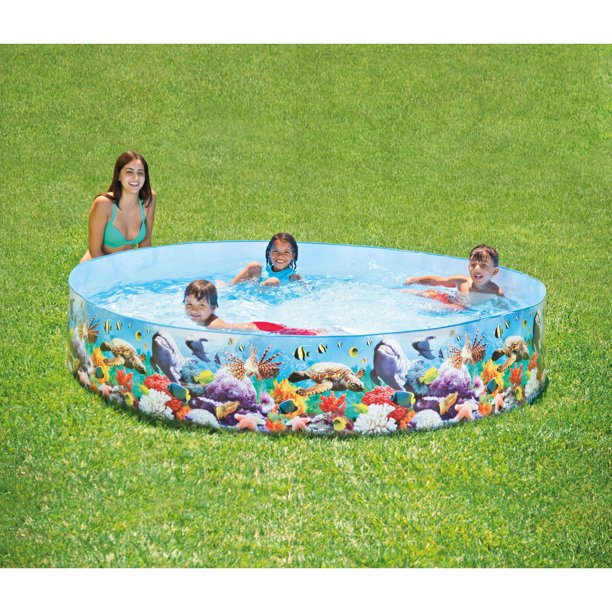 Intex 8 X 18 Ocean Reef Snapset Pool Walmart Com Walmart Com