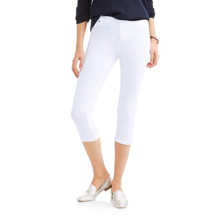 03cbd511c3f70b Time and Tru - Time and True Women's Soft Knit Jegging Capris ...