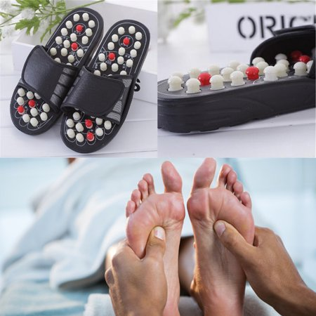 Deal of the Day - Moaere Acupressure Foot Massager Massage Ball Slippers Acupoint Shoes Reflexology Sandals for Men Women Deal of the day