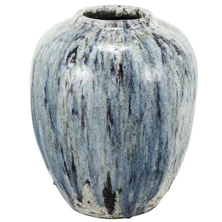 Ab Home Terracotta Vase 13 By 16 Inch Walmart