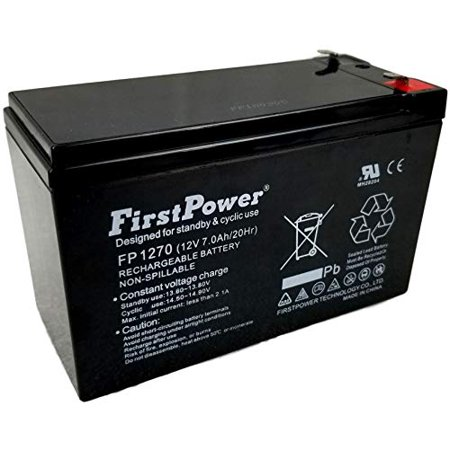 FirstPower 12v 7ah for Leadman UPS 300 UPS 500 FirstPower 12v 7ah for Leadman UPS 300 UPS 500FirstPower 12v 7ah Sealed Lead Acid Batteries are made with the highest quality of materials available. Our Lead Acid Batteries are typically used for: Home Alarm Systems, Uninterruptible Power Supply(UPS), Lighting Equipment, General Electronics, Home Security Systems, Emergency Systems, Medical Devices, Electric Scooters, Solar Collectors, Wheelchairs and many Other Applications. Whether it's the SECURITY of your home, the MOBILITY of your machine, or even just a personal HOBBY, be sure to use the most efficient batteries availableLength: 11.0 Width:9.0 Height:1.0Weight:5.1
