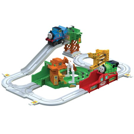 Thomas & Friends Motorized Thomas the Tank Engine Loader Train