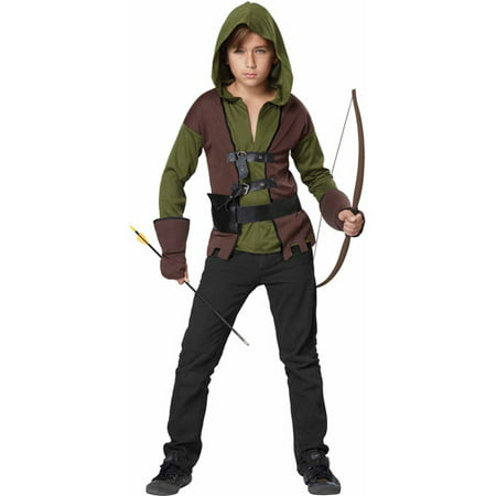ac292b27d39 California Costume Collections Robin Hood Child Halloween Costume -  Walmart.com
