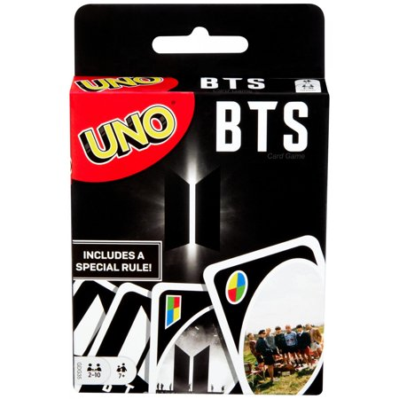 UNO BTS Themed Card Game for 2-10 Players Ages 7Y+ (Online Only)