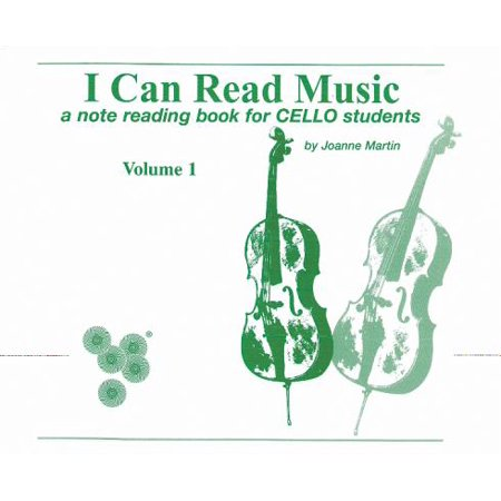 I Can Read Music, Vol 1 : A Note Reading Book for Cello