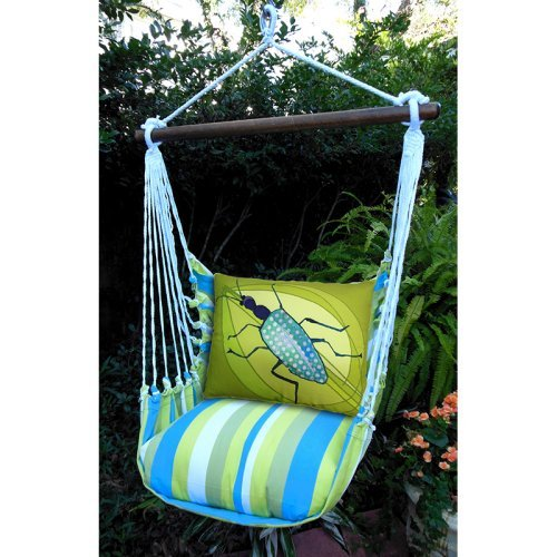 Magnolia Casual Buzz Hammock Chair & Pillow Set