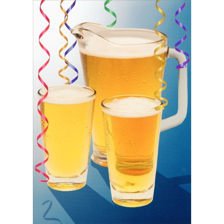 Oatmeal Studios Pitcher Of Beer Funny Humorous Birthday Card