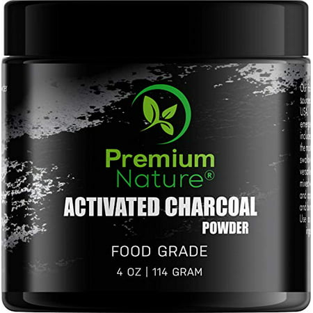 Activated Charcoal Teeth WhiteningPowder All Natural 4 oz Black Charcoal Charcol Teeth Whitener Charcole White TeethPowder Safe & Gentle for Gums Sensitive Teeth Brighter