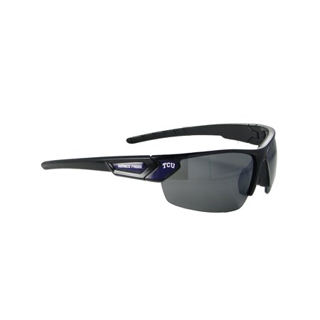 Texas Christian Horned Frogs TCU Black Purple Elite Sunglasses S12JT