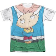 The Family Guy Stewie Carrier (Front Back Print) Mens Sublimation Shirt