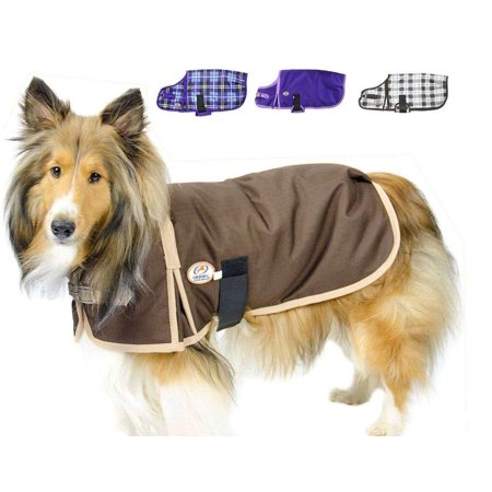 Derby Originals Horse Tough 1200D Waterproof Ripstop Nylon Heavy Weight Winter Dog Coat Insulated - Multiple Styles & Sizes - Two Year Limited Manufacturers Warranty