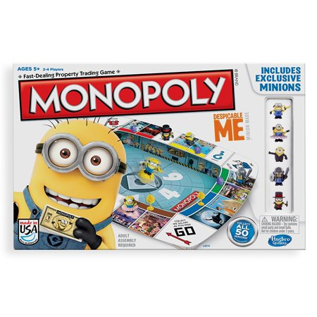 Monopoly Game Despicable Me Edition     By Hasbro Ship From Us