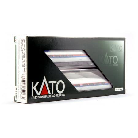 - Kato 106-8013 N Amtrak Amfleet I Phase I Set B (2)