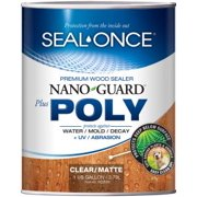 Best Deck Sealers - SEAL-ONCE NANOGUARD PLUS POLY PREMIUM WOOD SEALER FOR Review