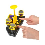 Finger Drum Set Toy Table Top Musical Portable Instrument