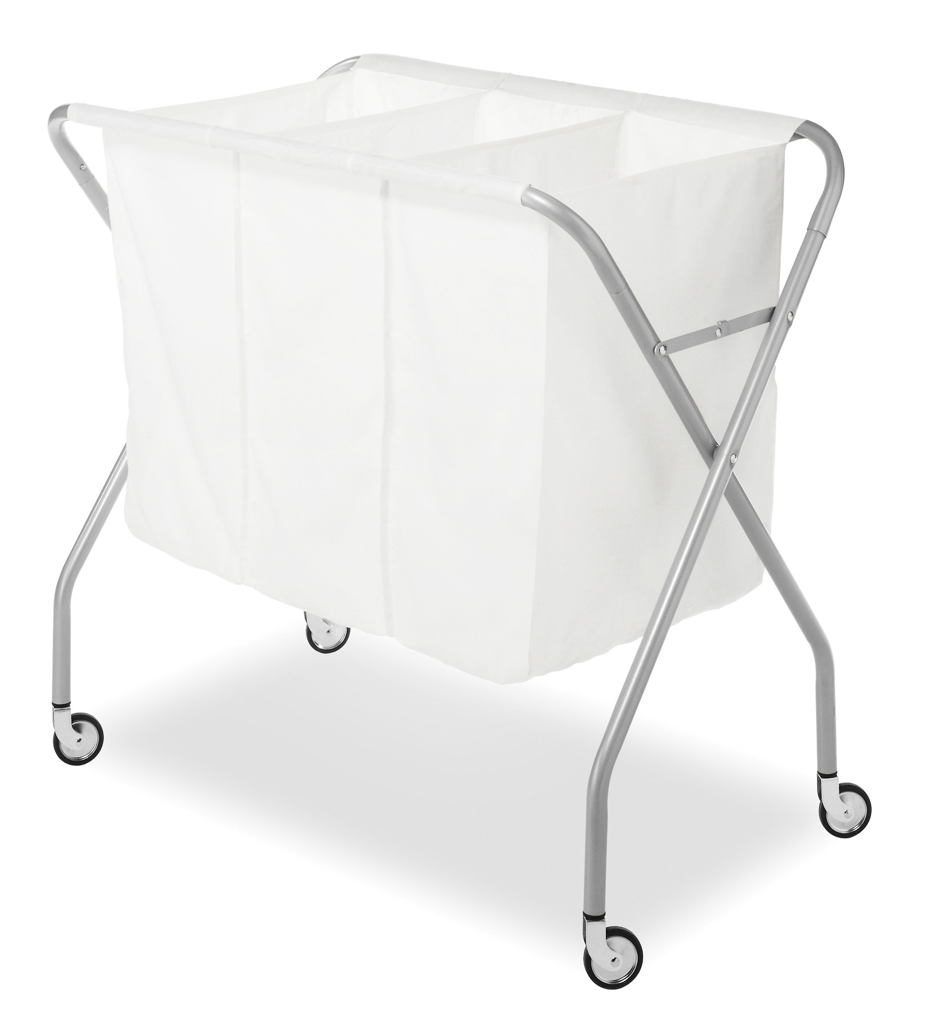 - Whitmor 3 Section Laundry Sorter - Collapsible With Heavy Duty